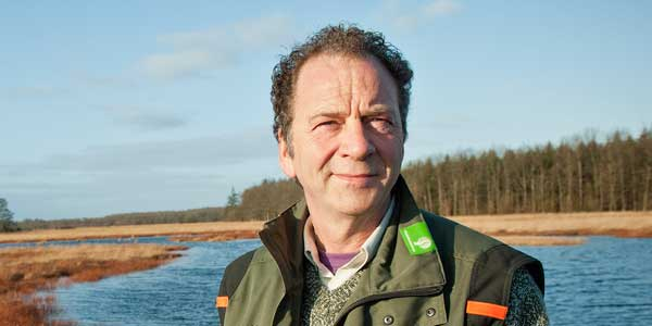 Boswachter Evert Thomas