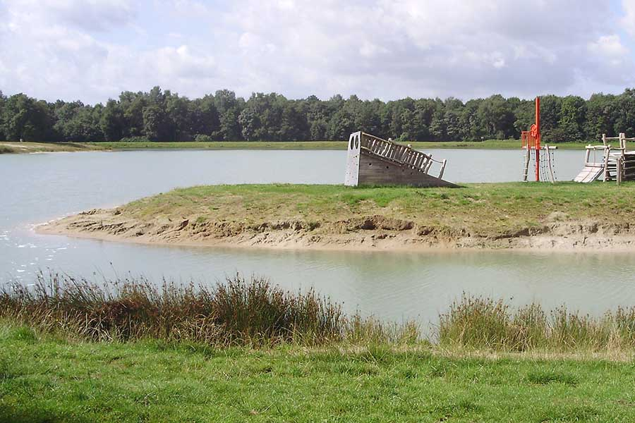 speelvijver Pokeplas in de Friese Wouden