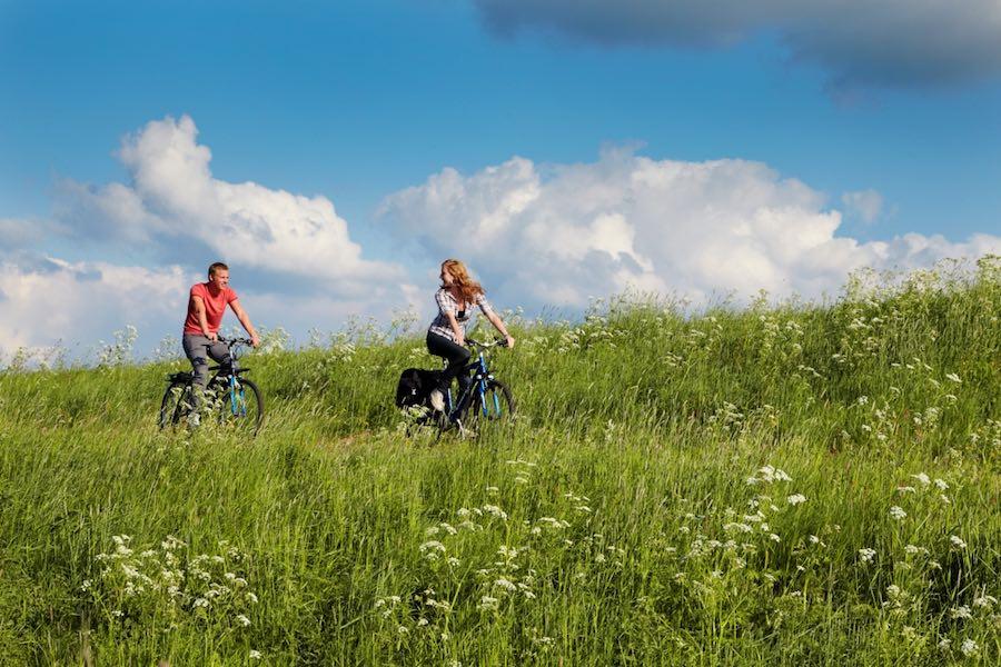 Op de fiets door het Munnikenland