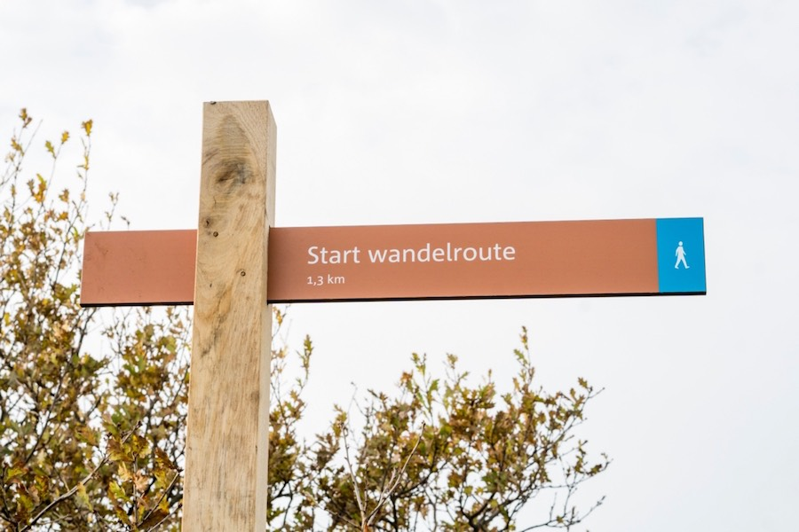 bord wandelroute